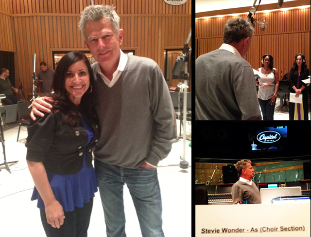 Capitol records with David Foster