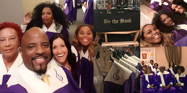 Sang on a TV show called Living Biblically
