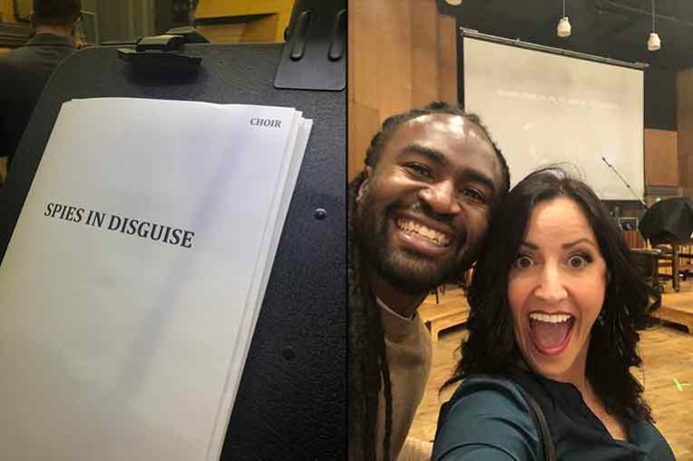 Monique Donnelly Spies in Disguise Vocal Sessions